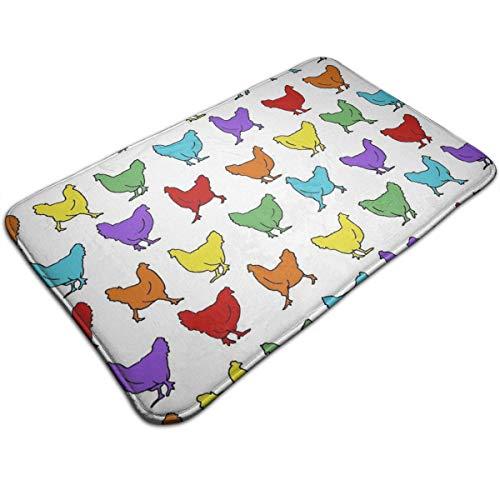 OKAYDECOR Memory Foam Bath Mat Non Slip Absorbent Super Cozy Bathroom Rug Carpet (19.5