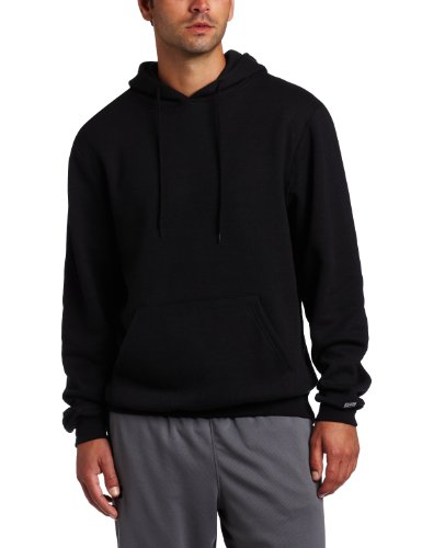 Soffe Men's Training Fleece Hooded Sweatshirt Black Large