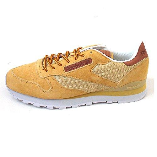 Reebok CL Leather OL Calzado Gelb (golden wheat/steel/gold)