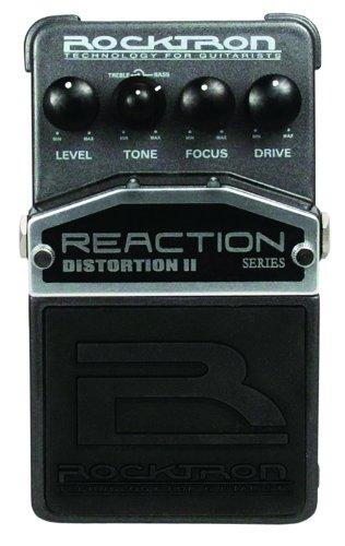 Rocktron Reaction Distortion 2 Guitar Effects Pedal ()
