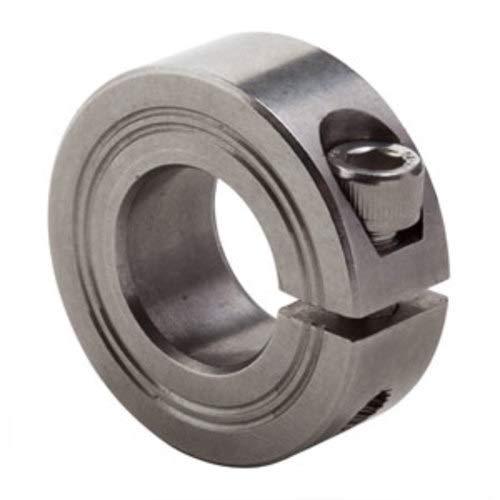 48mm ID Split w//o Relief Cut Metric Clamp Collar M1C-48-S SS