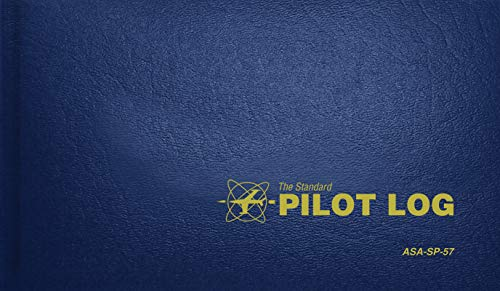 The Standard Pilot Log (Navy Blue): ASA-SP-57 (Standard Pilot Logbooks) (Best Electronic Pilot Logbook)