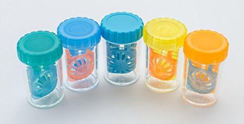 Sport Visión 3 Estuches Coloridos para lentillas: Amazon.es: Salud y cuidado personal