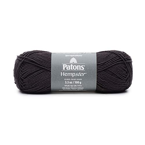PATONS Hempster Yarn, Black