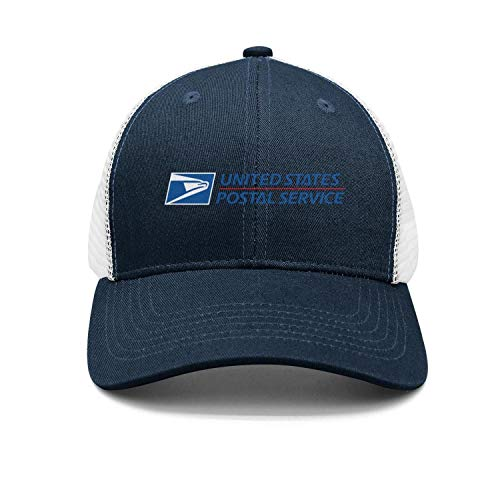Mens Womens USPS-United-States-Postal-Service-Logo-Navy-Blue Custom Adjustable Fishing Hat
