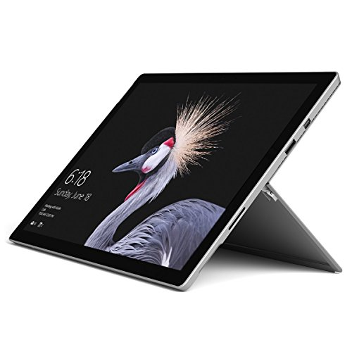 2017 Microsoft Surface Pro 4 12.3″ Laptop/Tablet (2.2 GHz Intel Core M3, 4GB RAM, 128 GB SSD, Windows 10 Pro), Silver (Renewed)