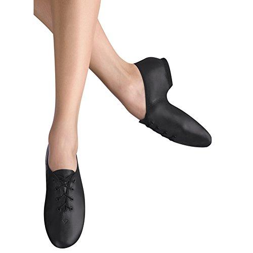 Leo Womens Protege Leather, Eva Jazz Shoes Black