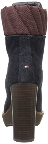 Tommy Hiliger I1285LEEN 13C1, Zapatillas de Estar por Casa para Mujer Azul - Blau (Midnight 403)