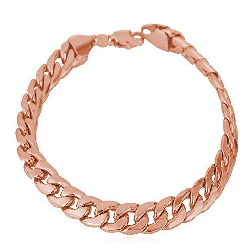 U7 Platinum Plated Classic Bracelet