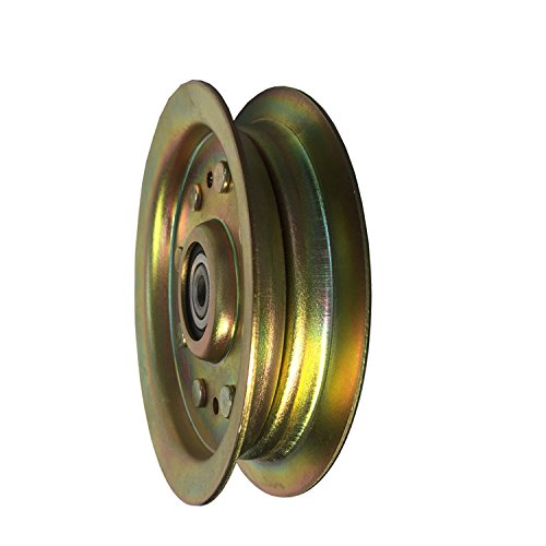 Parts Club Flat Idler Pulley Fits Stens 280-646 Replaces 280-64756-04129B 756-04129 956-04129
