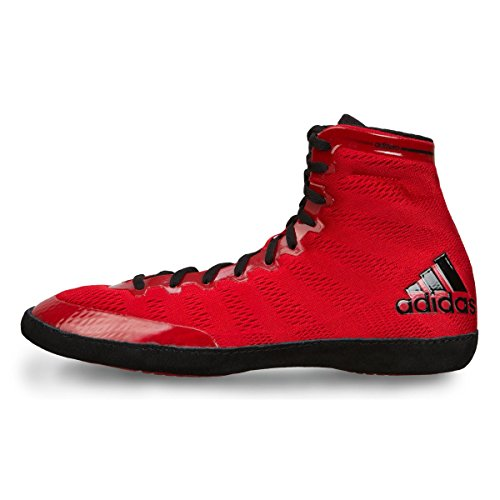 Black XIV adidas Wrestling Performance Adizero Men's Wrestling Shoes Red HxwPH8RqU