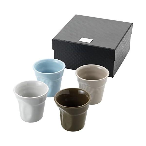 Tazzina da caffè in ceramica 80 ml colore NERO