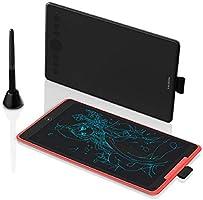 HUION Inspiroy Ink H320M Grafiska surfplattor, Dual-Purpose Design Graphics Tablet och LCD-skrivsurfplatta, stöd ±60 °...