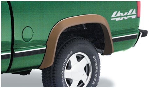 Bushwacker 40014-01 Chevrolet / GMC Extend-A-Fender Flare - Rear Pair Gmc C1500 Rear Fender