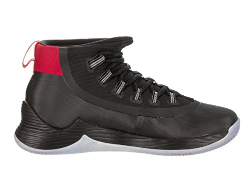 Jordan Nike Herren Ultra Fly 2 Basketballschuh Schwarz / Metallic / Silber / Gym / Rot