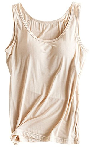 OyTas Women's Padded Active Vest Camisole Tanks Tops (Primark Halloween Top)