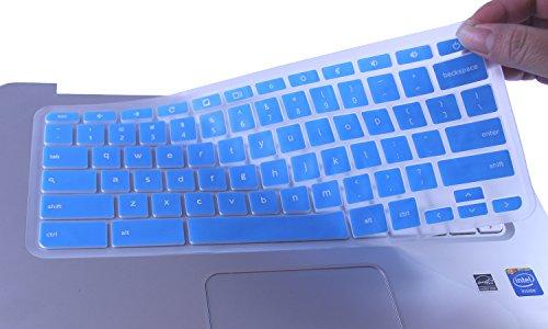 CaseBuy Chromebook Keyboard Protector Semi Blue