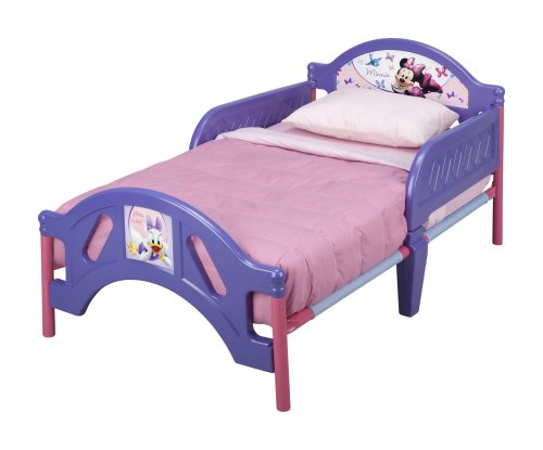 Plastic Toddler Bed Disney Minnie Mouse