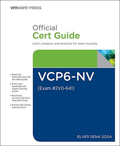 Nv System - VCP6-NV Official Cert Guide (Exam #2V0-641) (VMware Press Certification)