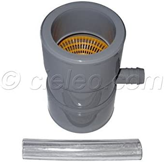 Colector de canaln color gris dimetro: 80-100 Boutt 0177288 CGG