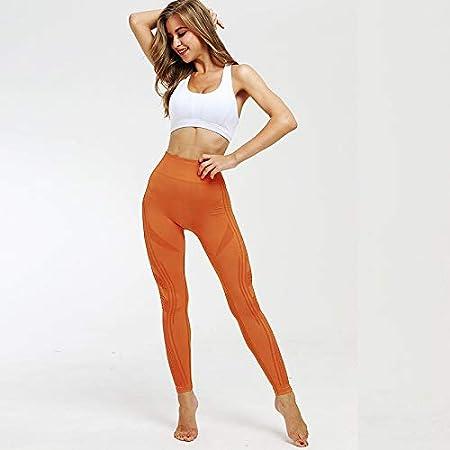 LiXiZhong Pantalones De Yoga De Cintura Alta para Yoga ...