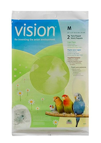 Vision Bird Cage Paper, Medium 23-Inch by 13-Inch 80273