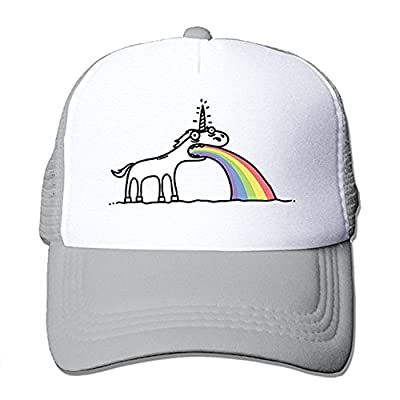 ZMvise Rainbow Unicorn Cotton Hats Sun Snapback Baseball Cap Unisex Hat for Outdoor Sports