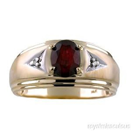 Garnet January Birthstone Ring - 7