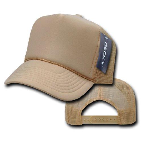 Buy decky 211 solid color foam trucker caps