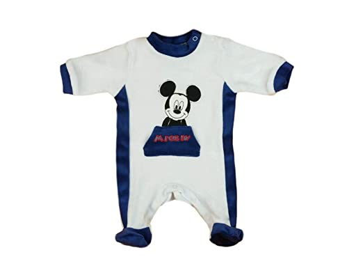 Jungen Baby Overall Mickey and Stars Disney Mickey Mouse
