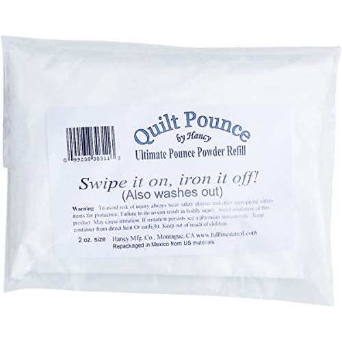 Brand New Ultimate Quilt Pounce Chalk Refill -2oz White Brand New