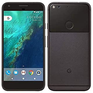 Google Pixel XL G2PW210032GBBK Factory Unlocked Smartphone, 32GB, 5.5-Inch Display - U.S. Version (Quite Black) (Renewed)