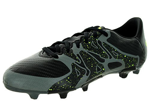 adidas Performance X 15.3 FGAG J Soccer Shoe ,Black/Solar Ye