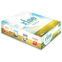 Rise Bar Real Food Energy Bar, Gluten-Free Variety Pack (12 Count)