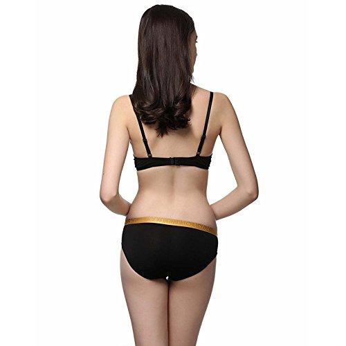 ZHFC-Ms color delicada ropa interior de fibra de bambú bajo cintura cadera caja dos Pack Mezcla de color