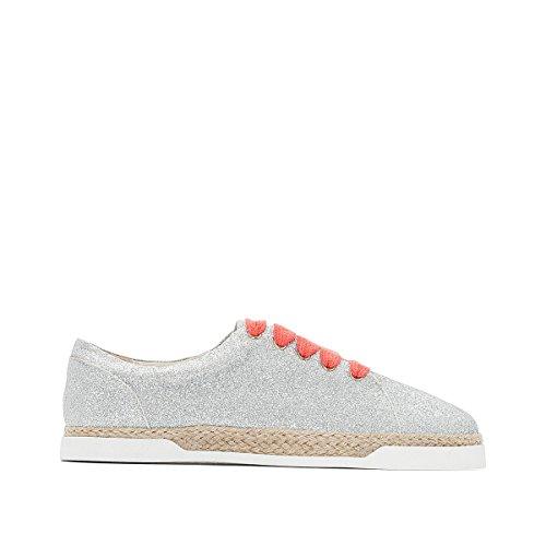 La Redoute Collections Frau Sneakers Mir Pailletten, Sisalsohle Gre 38 Grau