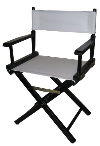 Casual Home 18-Inch Director Chair, Black Frame by Casual Home