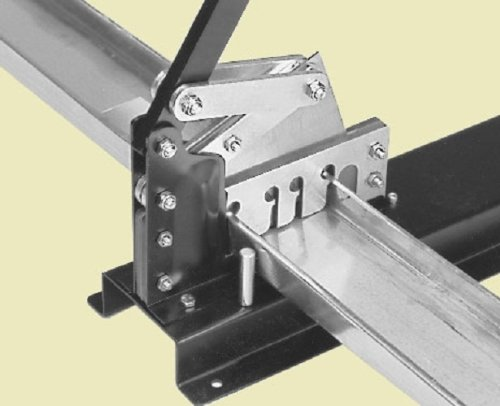 Malco SRC24A Channel Shear with Compound Leverage for Cutting 1-5/8-Inch 2-1/2-Inch and 3-5/8-Inch Steel Studs and Channel