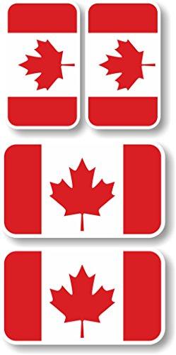 Vinyl sticker/decal Extra small 45mm & 35mm Canada - Canada Vinyl Sticker