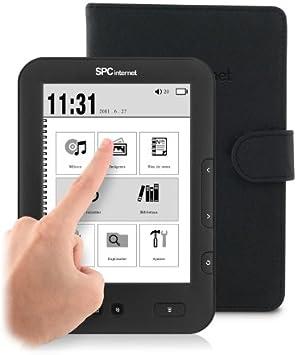 SPCinternet Lector de eBooks de tinta electrónica tácil 5601F: Amazon.es: Electrónica