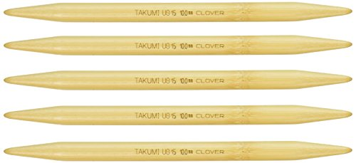 - Clover Takumi 7-Inch Double point, Size 15