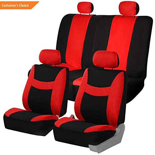Hemau 6 Colors Car Seat Covers for Sedan SUV Truck Split Bench Full Interior | Model CRSTCVR - 559 |