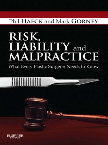 Download Risk, Liability and Malpractice: What Every Plastic Surgeon Needs To Know Pdf