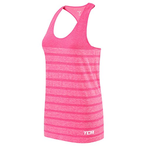 Women's TCA QuickDry SuperKnit Engineered Running / Training Tank - Liquid Pink XL