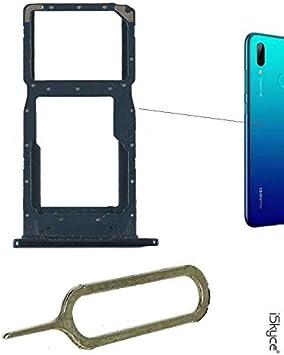 iSkyce Cajón de Bandeja OEM Sim y Tarjeta SD Azul para Huawei P ...