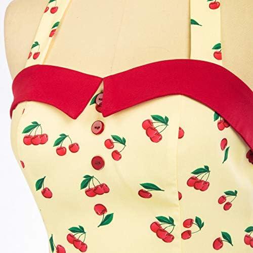 Belle Poque D/ébardeur Femme Ete Chic Chemise Blouse Top Vintage Dos Nu Dos Nu Sweetheart Col Vest GF610