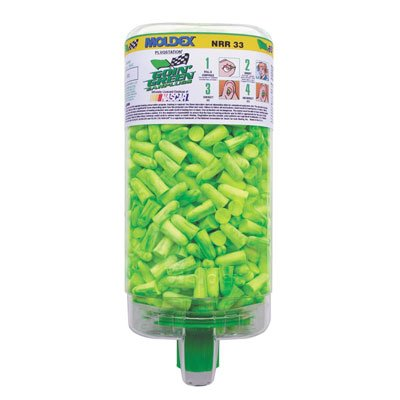 Earplug Dispenser With 500 Pair Single Use Goin' Green Foam Earplugs