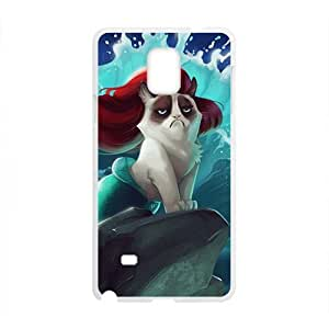 Red hair cat mermaid Cell Phone Case for Samsung Galaxy Note4