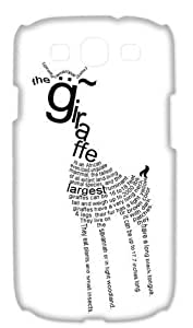 Gdragonhighfive Hard Case Cover with Fashion Style for Samsung Galaxy S3 I9300,I9308,I939 - Giraffe Animal Cover Pet Giraffe by icecream design
