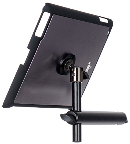 On Stage TCM9160 Tablet Mount with Snap-On Cover for iPad 2/3/4, Gun Metal (Ipad On Stage)
